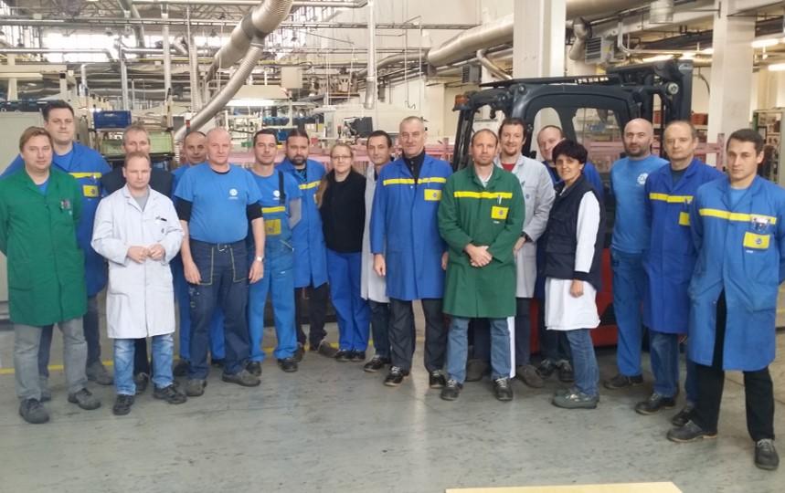 Public training in TPV Novo mesto